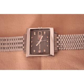ラドー(RADO)の☆ラドーマンハッタン・ブラック オーバーホール済美品☆(腕時計(アナログ))