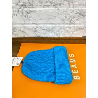 ザラ(ZARA)のZARAケーブルニット帽(ニット帽/ビーニー)
