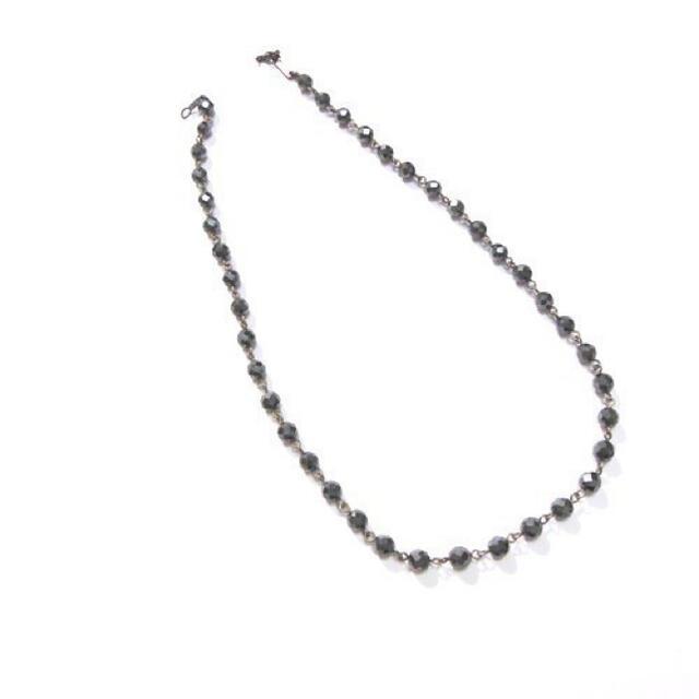 EYEFUNNY(アイファニー)の【美品】アイファニー EYEFUNNY ネックレス/925シルバー ブラック メンズのアクセサリー(ネックレス)の商品写真