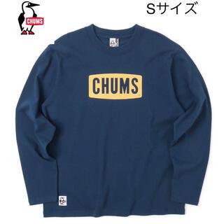 チャムス(CHUMS)の新品タグ付き CHUMS チャムスロゴロングTシャツ  定価4650円 ①(Tシャツ/カットソー(七分/長袖))