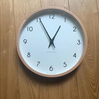 アクタス(ACTUS)のレムノス 電波掛時計(掛時計/柱時計)