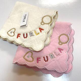 フルラ(Furla)のフルラ ハンドタオル タオルハンカチ 2枚セット(タオル/バス用品)