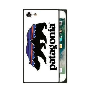 パタゴニア(patagonia)のパタゴニア スクエア ガラスケース iPhoneケース q3h3k(iPhoneケース)