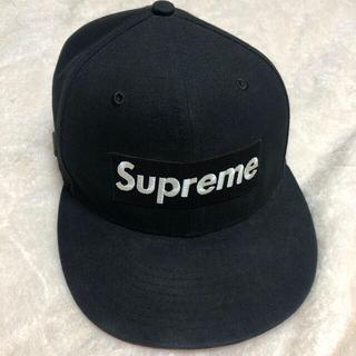 シュプリーム(Supreme)のシュプリーム  new era  ゴアテックス ブラック size55.8(キャップ)