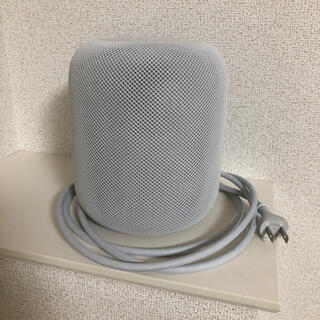 アップル(Apple)のApple Homepod White アップル ホームポッド ホワイト(スピーカー)