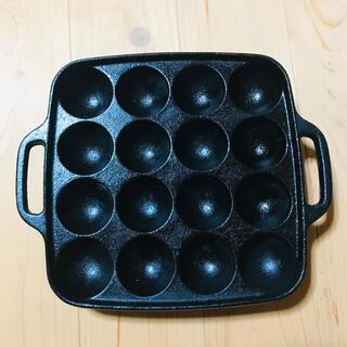 イワタニ(Iwatani)のたこ焼きプレート イワタニ 鉄製プレート(鍋/フライパン)