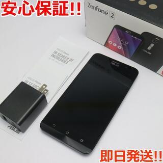 エイスース(ASUS)の美品 ZenFone 2 32GB 4GB ZE551ML ブラック (スマートフォン本体)