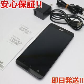 エイスース(ASUS)の美品 ZenFone 2 32GB 2GB ZE551ML ブラック (スマートフォン本体)