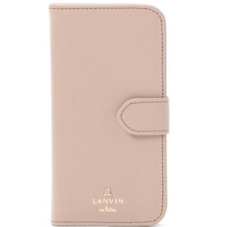 ランバンオンブルー(LANVIN en Bleu)のLANVIN en Bleu リュクサンブール iPhone7/8 手帳型ケース(iPhoneケース)