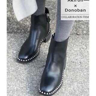 ディーホリック(dholic)の【新品】Akiron × DONOBAN コラボ ブーツ(ブーツ)