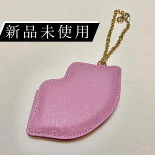 ヨンドシー(4℃)の【新品未使用】Luria 4℃ リップ型 ミラー(チャーム)