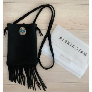 アリシアスタン(ALEXIA STAM)のalexiastam 完売 本革ショルダーバッグ(ショルダーバッグ)
