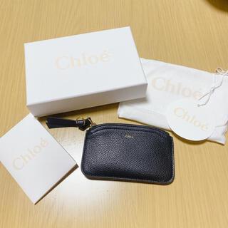 クロエ(Chloe)の【TIME SALE】Chloe カードケース 3P0971 H8J(ブラック)(コインケース)