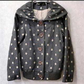 フランシュリッペ(franche lippee)のfranche lippee blackドット 刺繍 ジャケット(その他)
