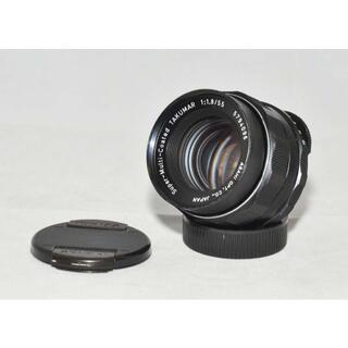 ペンタックス(PENTAX)のペンタックス Super-malti-coated タ55mm f1.8 M42(レンズ(単焦点))