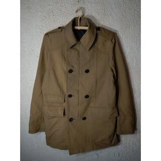 ザラ(ZARA)のo1964 ZARA MAN ダブル ステンカラー トレンチ コート ジャケット(ステンカラーコート)