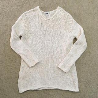 ダナキャランニューヨーク(DKNY)のDKNY ニット セーター 白 ニットトップス レディース(ニット/セーター)
