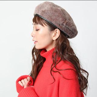 フリークスストア(FREAK'S STORE)の美品 ファーベレー帽(ハンチング/ベレー帽)