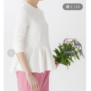 ツルバイマリコオイカワ(TSURU by Mariko Oikawa)のEpaulement、ペプラムトップス(カットソー(長袖/七分))