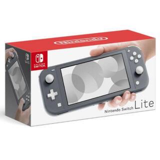 ニンテンドースイッチ(Nintendo Switch)のNintendo Switch Liteグレー(携帯用ゲーム機本体)