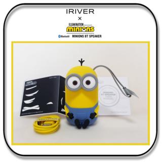 アイリバー(iriver)のIRIVER ミニオンズ ブルートゥーススピーカー ケビンモデル(スピーカー)