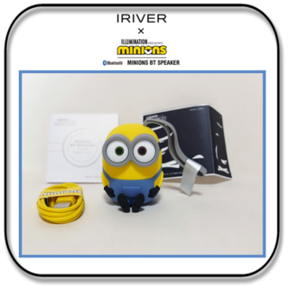 アイリバー(iriver)のIRIVER ミニオンズ ブルートゥーススピーカー ボブモデル(スピーカー)