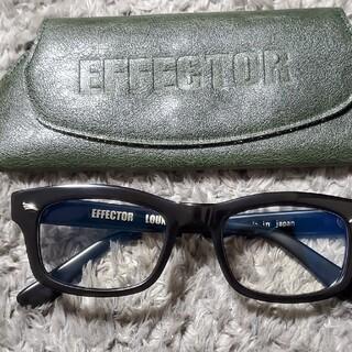エフェクター(EFFECTOR)のエフェクター EFFECTOR 眼鏡 LOUNGE ラウンジ BK(サングラス/メガネ)
