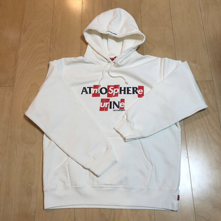 シュプリーム(Supreme)の Supreme ANTIHERO Hooded Sweat White L(パーカー)