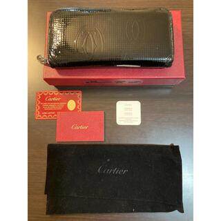 カルティエ(Cartier)のCartier カルティエ 長財布 ハッピーバースデー 黒 ブラック(長財布)