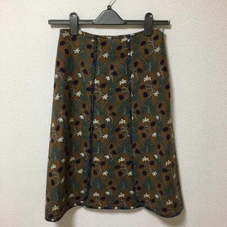 ケイタマルヤマ(KEITA MARUYAMA TOKYO PARIS)のケイタマルヤマ ウールスカート(ひざ丈スカート)