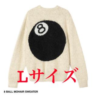 ステューシー(STUSSY)のSTUSSY  8 BALL MOHAIR SWEATER(ニット/セーター)
