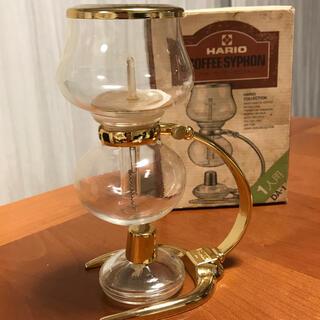 ハリオ(HARIO)のコーヒーサイフォン ミニフォン HARIO DA-1G(その他)