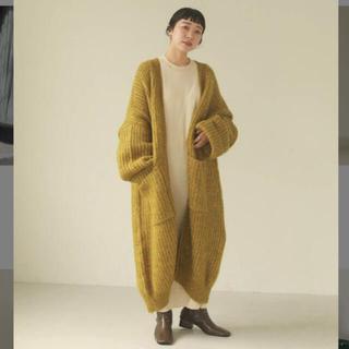 トゥデイフル(TODAYFUL)の2020aw Lowgauge Knit Gown トゥディフル(ニットコート)