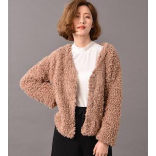 アーバンリサーチ(URBAN RESEARCH)の新品 ファーコート  コート ファーショートカーディガン(毛皮/ファーコート)