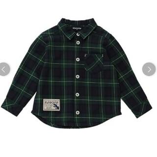 kladskap - クレードスコープ チェックシャツ 110cm