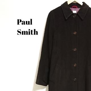 ポールスミス(Paul Smith)のラグジュアリー☆ 上質 ポールスミス コート ロング ブラウン レディース(ロングコート)
