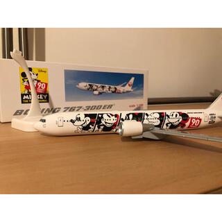 ジャル(ニホンコウクウ)(JAL(日本航空))の【値下げ】JAL ミッキーマウス90周年デザインモデル 1/200(キャラクターグッズ)
