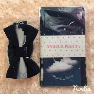 アンジェリックプリティー(Angelic Pretty)のMisty Skyタイツ&シュシュセット(タイツ/ストッキング)