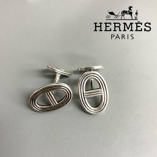 Hermes - 【美品】HEMES silver 925 cuffs madein France
