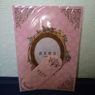 アクシーズファム(axes femme)の新品 axes femme ノベルティ クリアファイル+しおり チケットケース(その他)