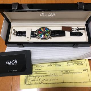 ガガミラノ(GaGa MILANO)のガガミラノ 時計 GAGAMILANO 48mmマヌアーレ(その他)
