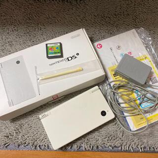 ニンテンドーDS(ニンテンドーDS)のNintendo DS 本体 ニンテンドー DSI WHITE(家庭用ゲーム機本体)