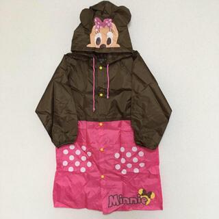 ディズニー(Disney)の即購入OK!新品タグ付き キッズ ディズニー ミニー レインコート 収納袋付き(レインコート)