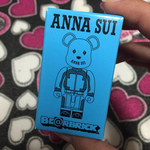 ANNA SUI(アナスイ)の気まぐれSALE♡ベアブリック/ブルー エンタメ/ホビーのフィギュア(その他)の商品写真