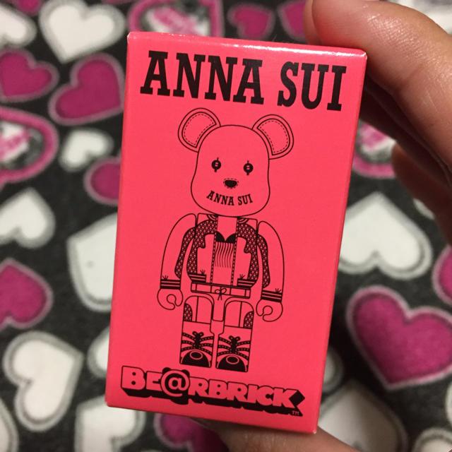 ANNA SUI(アナスイ)の気まぐれSALE♡ベアブリック/ピンク エンタメ/ホビーのフィギュア(その他)の商品写真