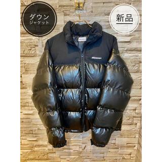 【新品】ダウンジャケット 黒 レディース 軽い M(ダウンジャケット)