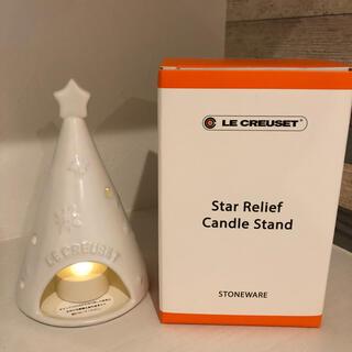 ルクルーゼ(LE CREUSET)のル・クルーゼ キャンドルホルダー IKEA LEDライト付き(その他)
