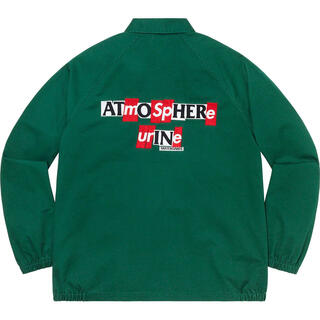 シュプリーム(Supreme)の緑 M Supreme Antihero Snap Front jacket(ブルゾン)
