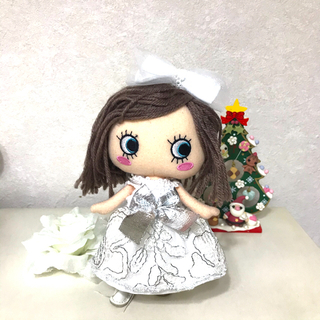 アタオ(ATAO)のイーマリー服 シルバーのドレスセット(ぬいぐるみ)