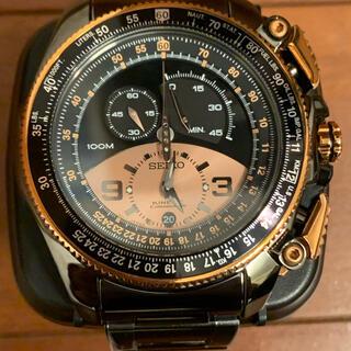 セイコー(SEIKO)のセイコー キネティック クロノグラフ メンズ B×PG 750本限定モデル (腕時計(アナログ))